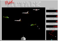 Small Flak Attack Screen Shot